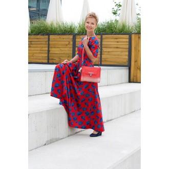 Sukienka z rękawem Fiorentina Power Flower Red