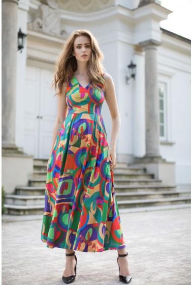 Długa sukienka Fiorentina...