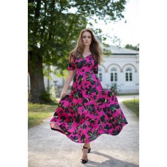 Sukienka z rękawem Fiorentina DREAMY FUCHSIA