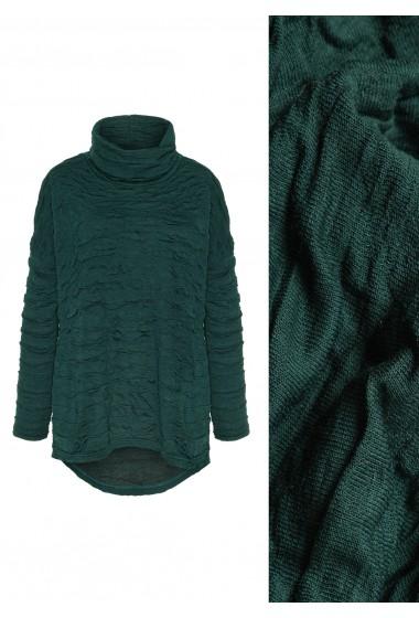 Sweterek z golfem BARI green